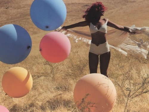 only girl baloons - rihanna Wallpaper