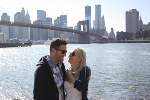 Paul Byrom images paul byrom & wife to be-Brooklyn-5-23-2012 wallpaper and background photos
