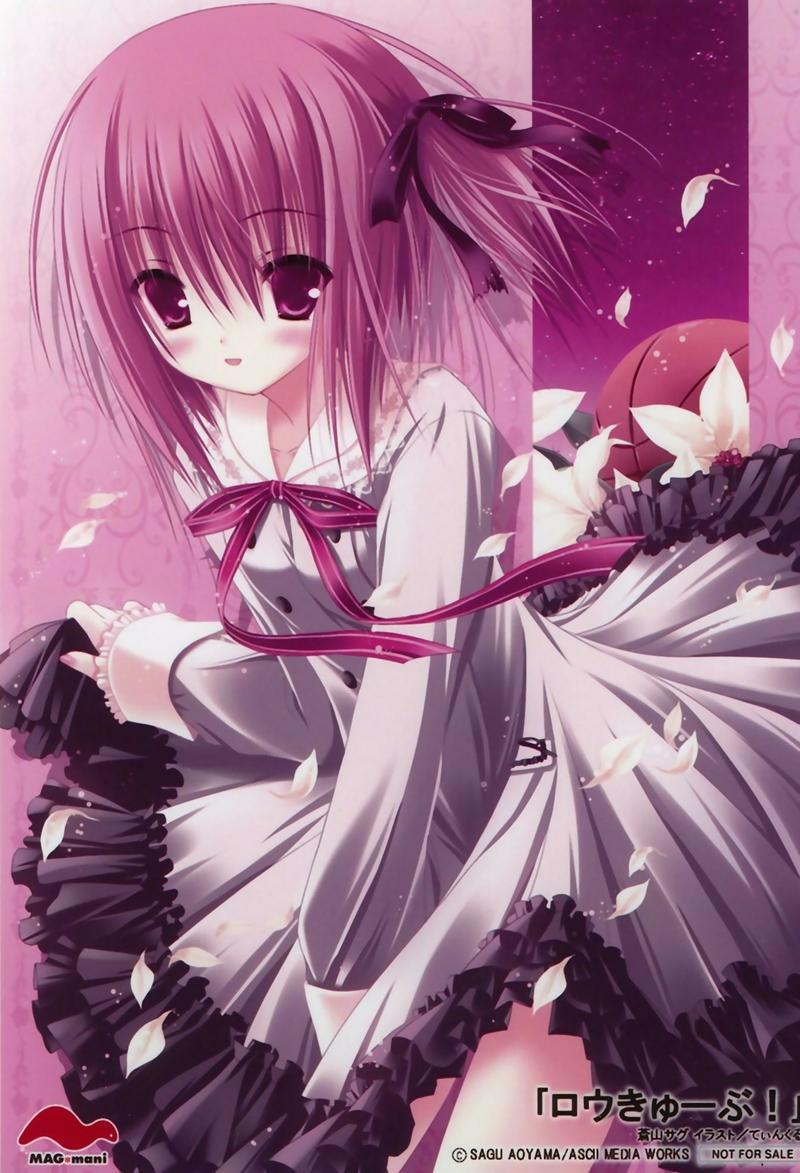 Funky wet anime pink girl splendid