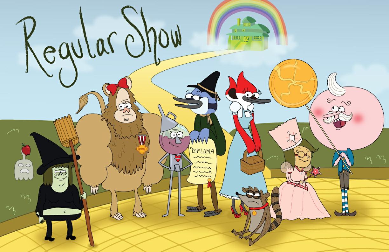Regular Show Cartoon