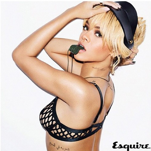 Rihanna esquire uk