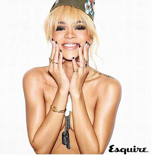 rihanna uk esquire