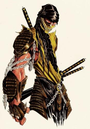 schorpioen, scorpion