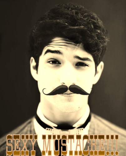 Tyler Posey wallpaper called sexy moo-stache!