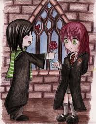 snape and lily - severus-snape-and-lily-evans Photo