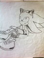 sonic riders zero gravity - shadow-the-hedgehog photo