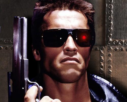 Terminator fond d'écran with sunglasses titled Terminator