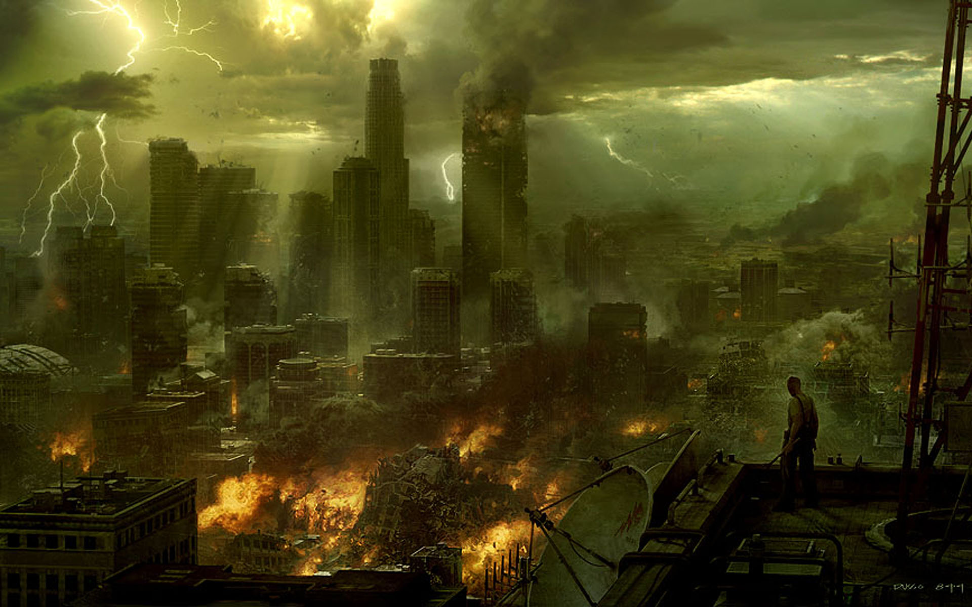the end - doomsday destruction Wallpaper (30971970) - Fanpop fanclubs