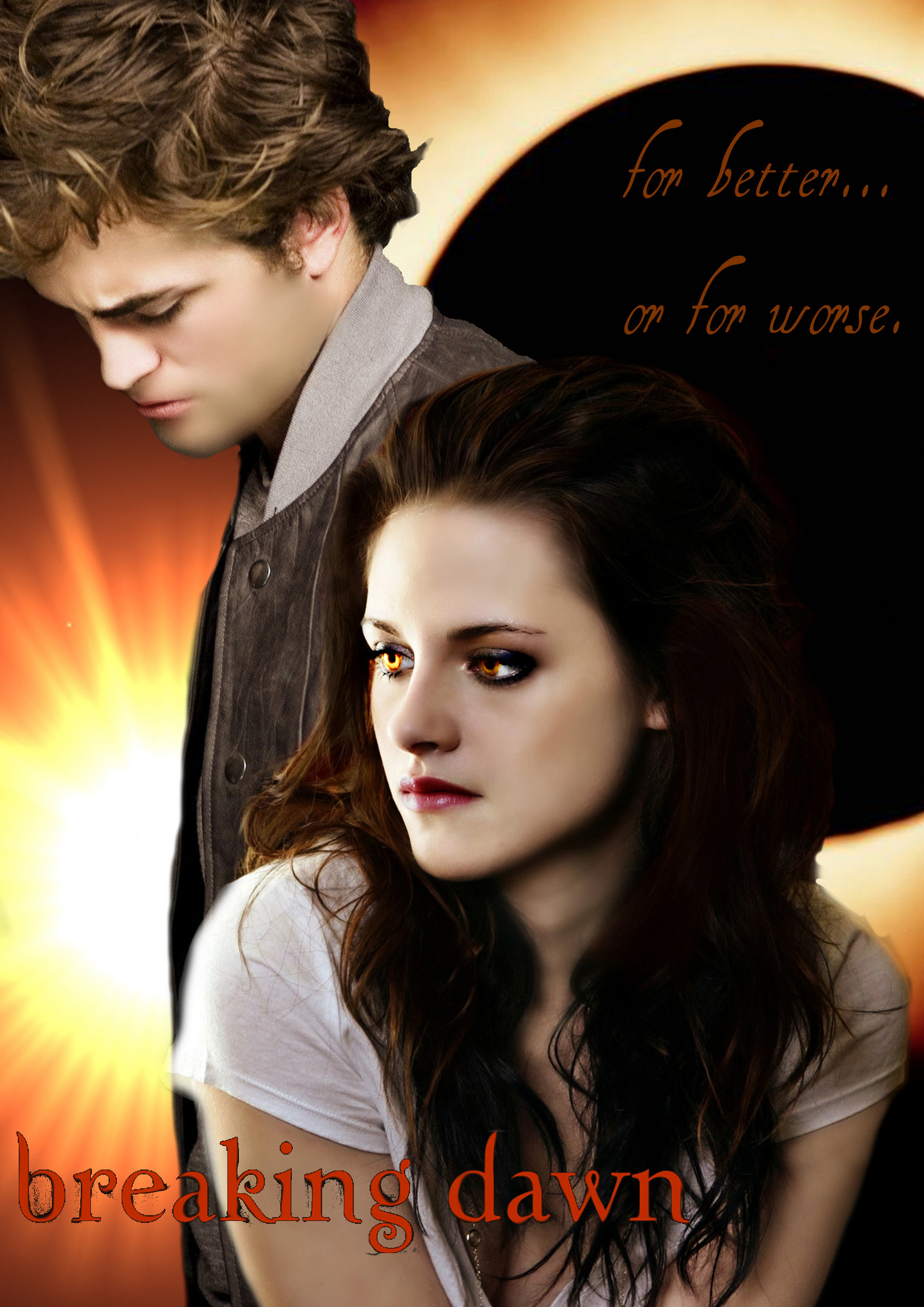 the twilight saga: breaking dawn - edward & bella ♥