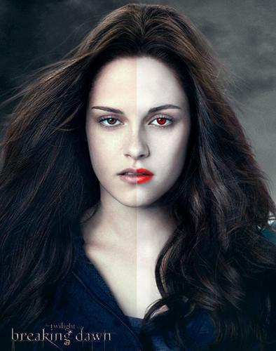 la saga Twilight fond d'écran entitled the twilight saga: breaking dawn - edward & bella ♥