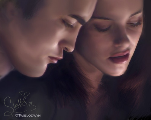 the twilight saga - edward-bella