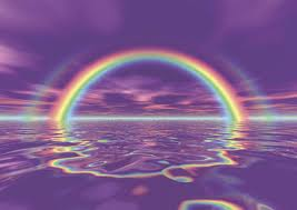 water+rainbow=amazing