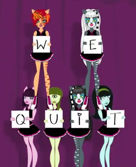 we quit - monster-high Photo