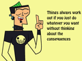 wise words - total-drama-island photo
