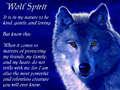 wolves spirt stong