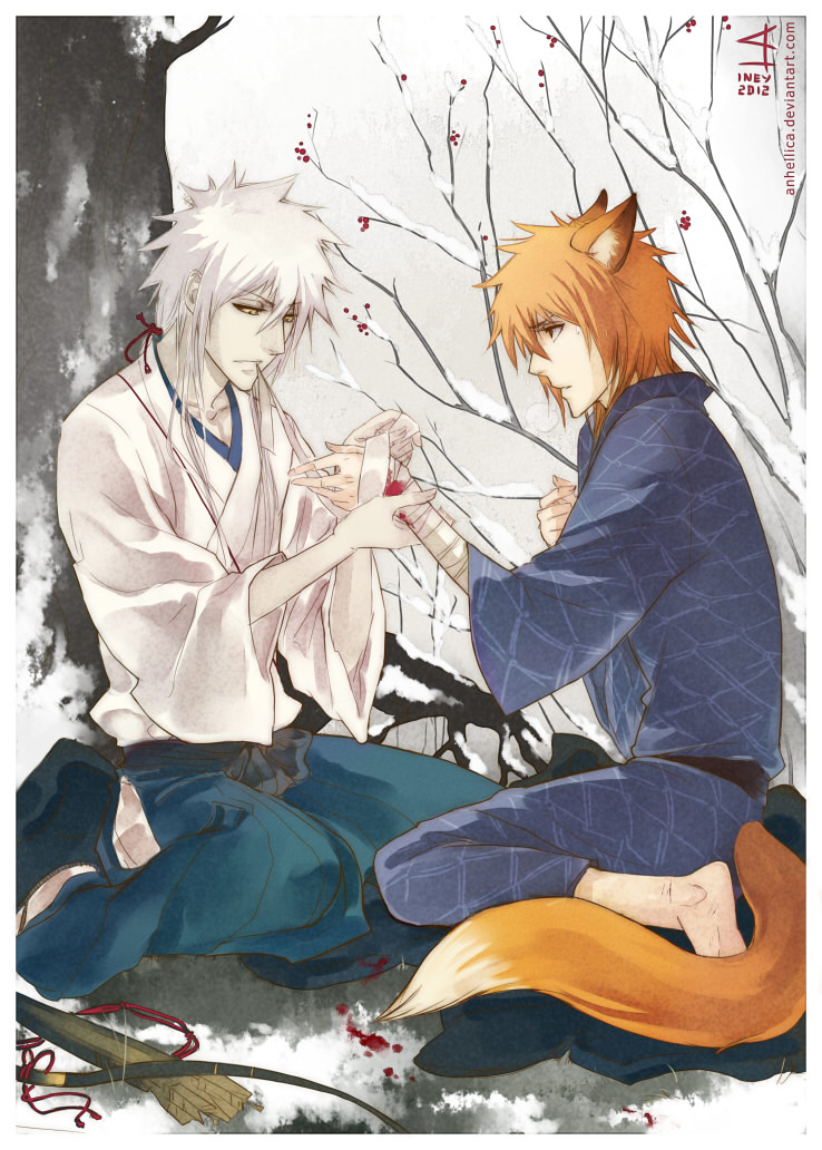"""A Hunter and Kitsune"""