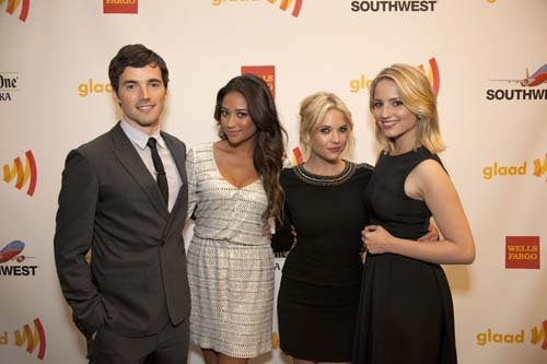  Ashley, Ian and Shay @ Annual GLAAD Media Awards - pretty-little-liars-tv-show Photo