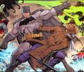 Batman vs. Rorschach - dc-comics photo