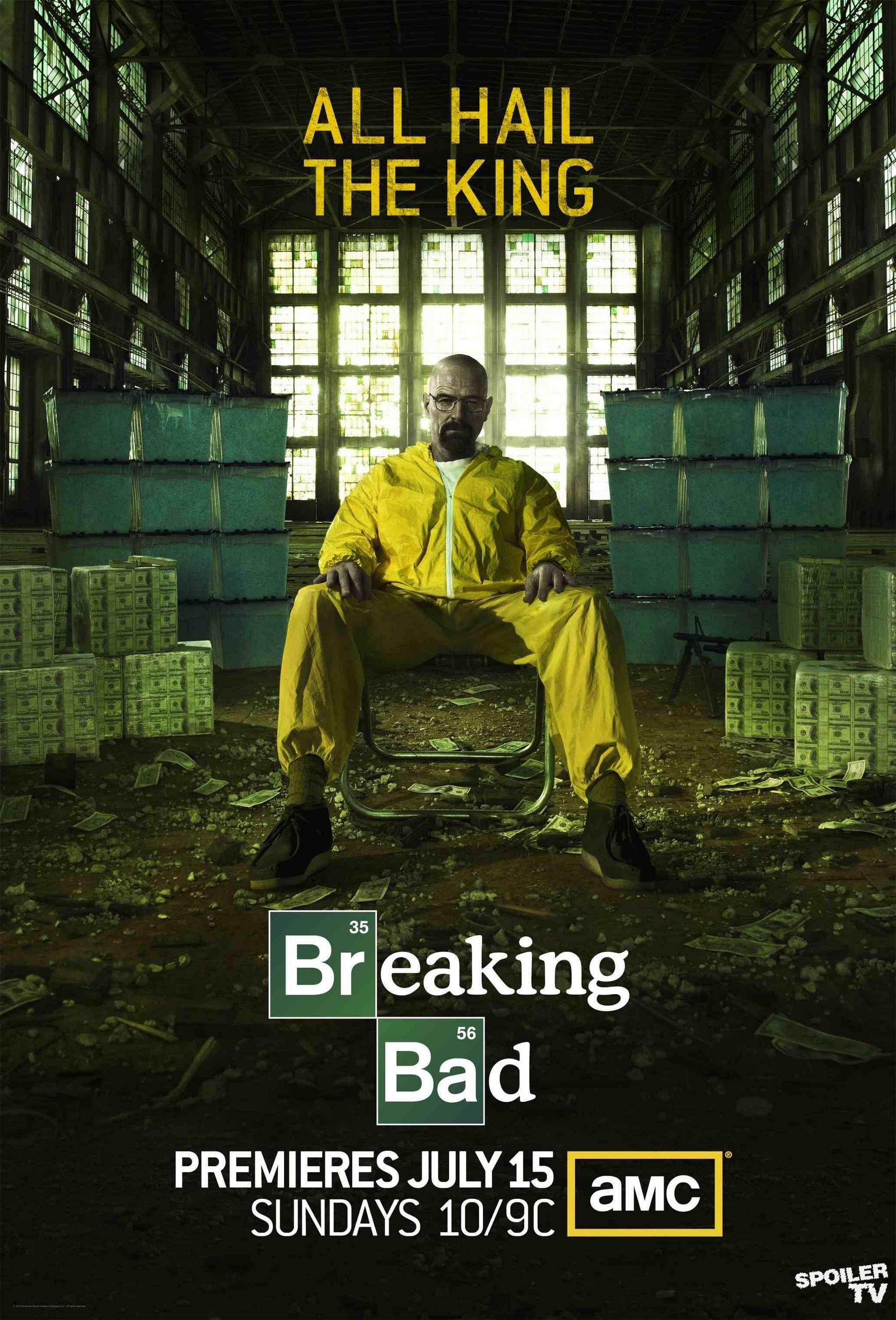 breaking bad season 5 promotional poster hq breaking