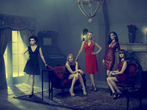 """Dark Shadows"" Cast Photoshoot (2012) - tim-burtons-dark-shadows Wallpaper"