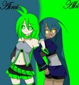 (Gift like thing for hot-mess10)Aki and Aimi ..::New BFFS!::..
