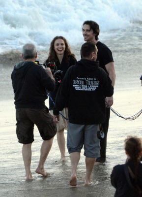 """""""Knight of Cups"""" > Shooting a scene with Christian Bale in Malibu, CA (May 31st 2012)"""