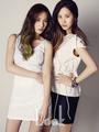 Krystal & Seohyun @ 1st Look Magazine