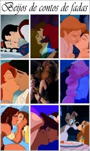 ♥Michael Jackson Kisses پرستار in middle, along w/ Disney kisses♥