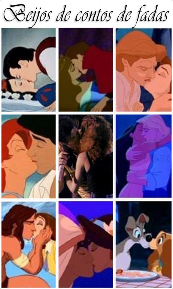 ♥Michael Jackson Kisses fã in middle, along w/ disney kisses♥