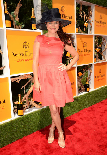 Tiffani Thiessen - 5th annual Veuve Clicquot Polo Classic, Jersey City 02.06.12