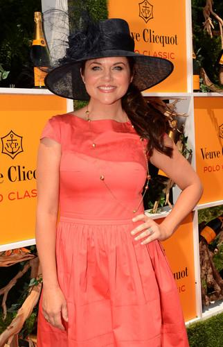 Tiffani Thiessen - 5th annual Veuve Clicquot Polo Classic, Jersey City 02.06.12