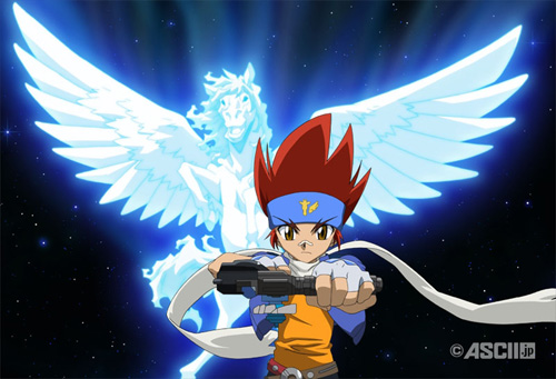 Beyblade Metal Fusion kertas dinding possibly with Anime called :)