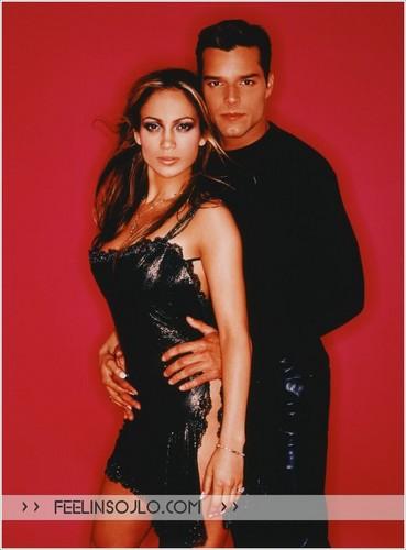 1999 Ricky Martin & Jennifer Lopez