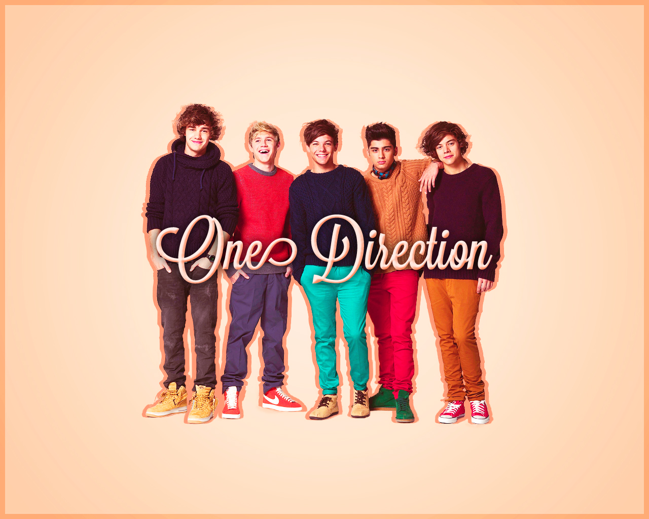 1D One Direction Names