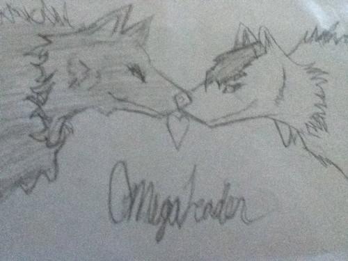 2 オオカミ in 愛