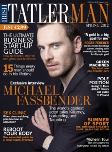 Michael Fassbender wallpaper with anime called 2012 Irish Tatler Man magazine cover