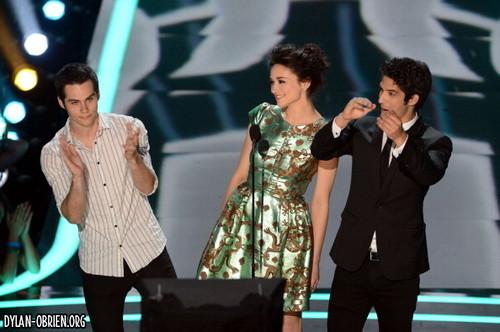 2012 音乐电视 Movie Awards 显示 & Backstage