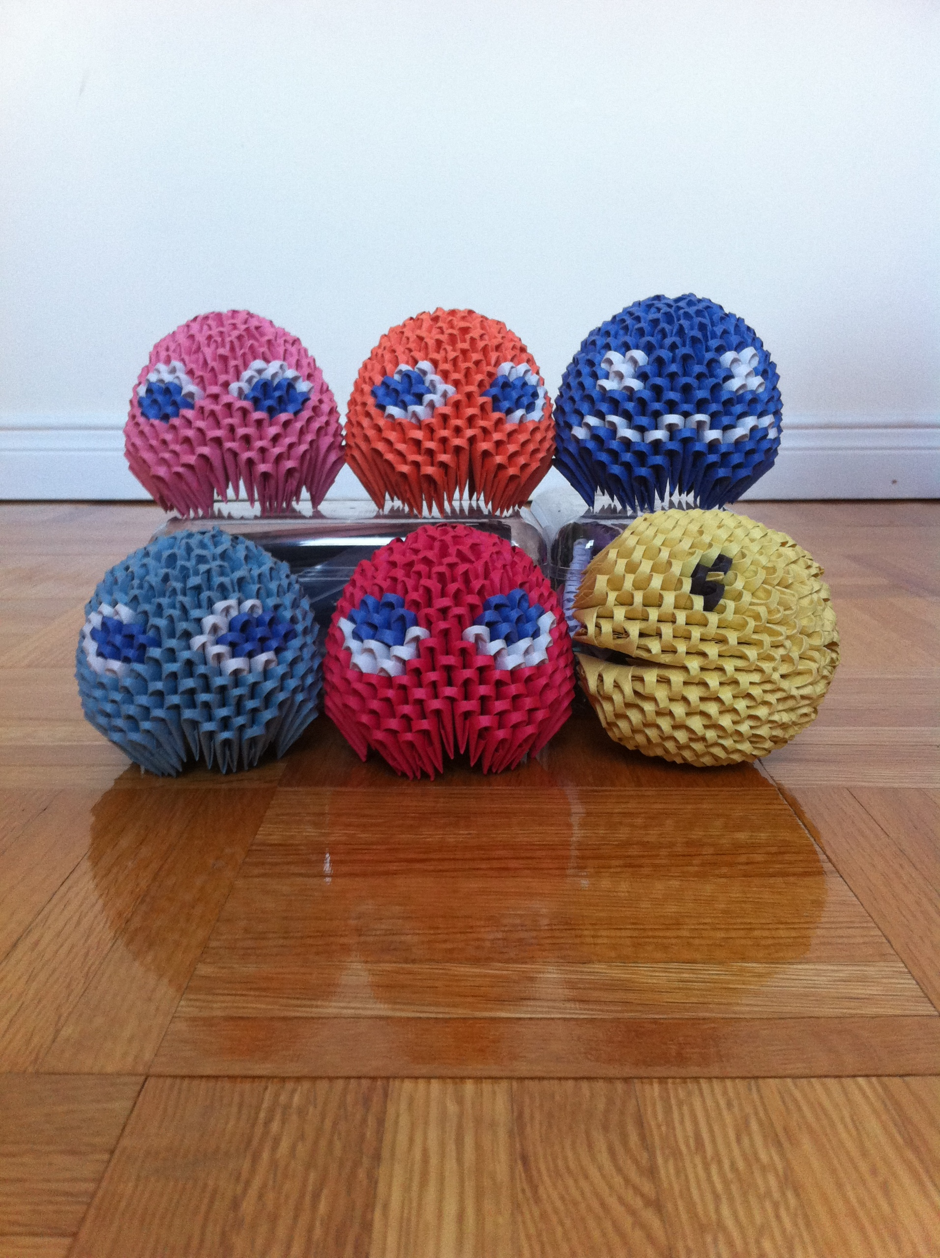 Origami Images 3D Pac Man HD Wallpaper And Background Photos