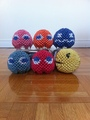 3D Origami Pac-Man - origami fan art