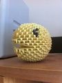3D Origami Pac-Man - pac-man fan art
