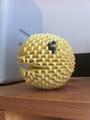 3D Origami Pac-Man