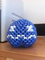 3D Origami Pacman Ghost