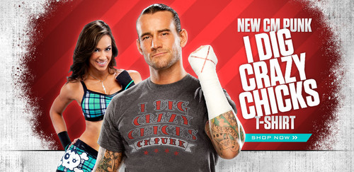 AJ Lee and CM Punk - aj-lee Photo