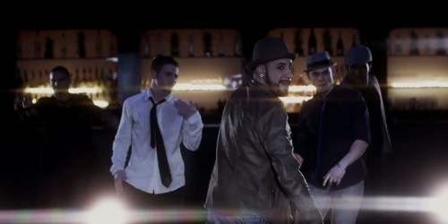 The Backstreet Boys 바탕화면 containing a business suit entitled AJ Mclean