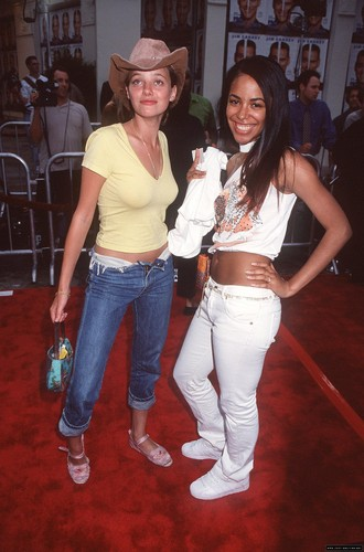 "aaliyah on ""Me, Myself & Irene"" Movie Premiere"