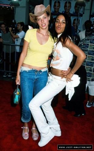 "aaliyah on ""Me, Myself & Irene"" Movie Premiere"