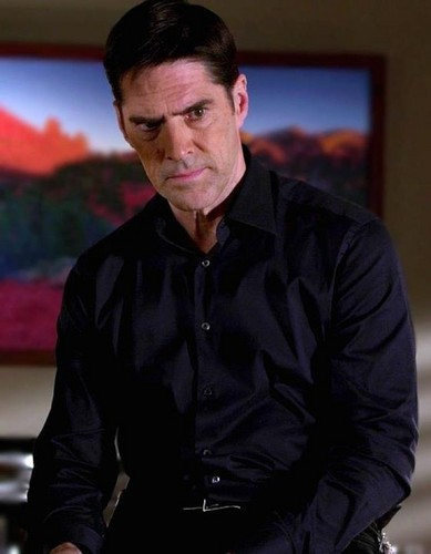 SSA Aaron Hotchner wallpaper possibly with a business suit entitled Aaron Hotchner