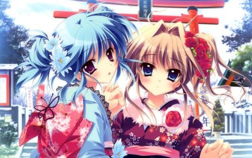 Airi and Sakuno