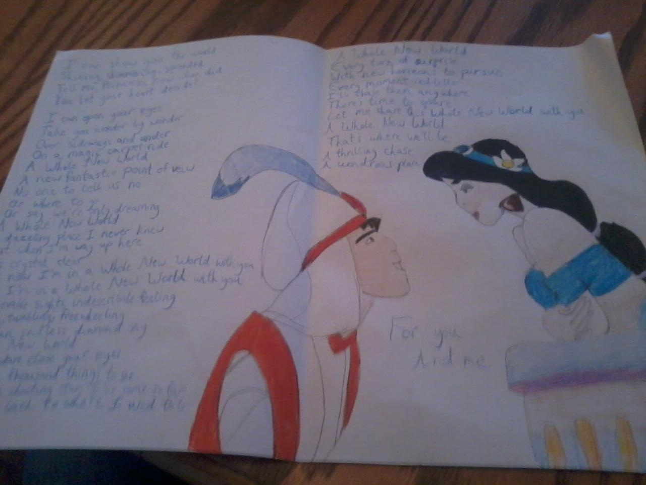 Disney Princess Images Aladdin Birthday Card Hd Wallpaper And