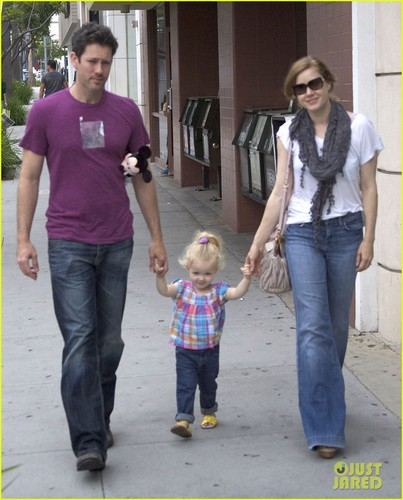 Amy Adams: Nate 'N Al's Lunch with the Family! - amy-adams Photo